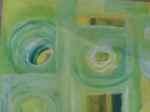 Frühling / 2010 / Acryl auf Leinwand